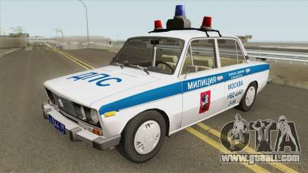 VAZ 2106 DPS (Police of Moscow) for GTA San Andreas