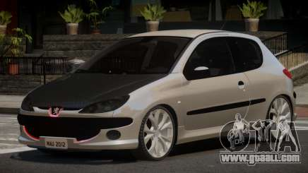 Peugeot 206 Tuned V1.0 for GTA 4