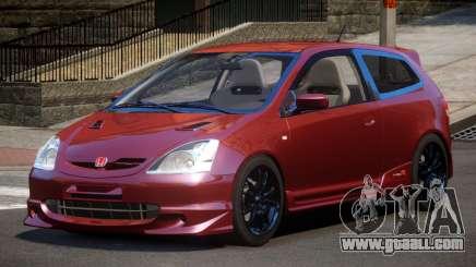 Honda Civic Type R-Tuned for GTA 4