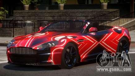 Aston Martin DBS Volante PJ3 for GTA 4
