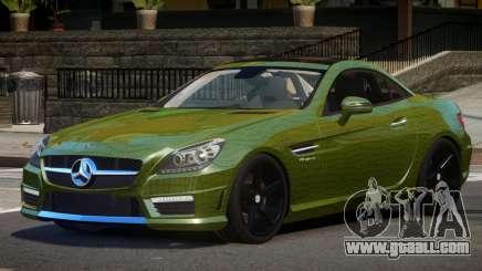 Mercedes Benz SLK Qz PJ4 for GTA 4