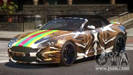 Aston Martin DBS LT PJ1 for GTA 4