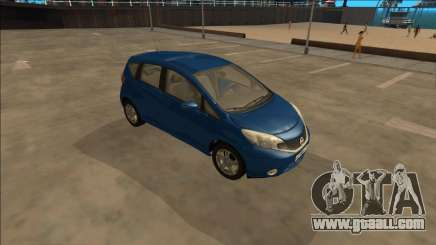 Nissan Note 2013 for GTA San Andreas