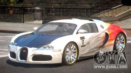 Bugatti Veyron 16.4 S-Tuned PJ6 for GTA 4