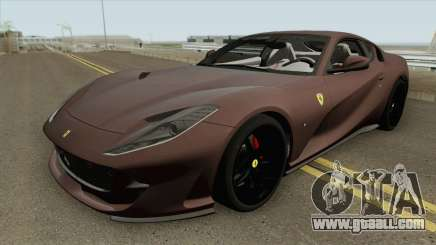 Ferrari 812 Superfast (HQ) for GTA San Andreas