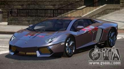 Lamborghini Aventador LP700 RP PJ3 for GTA 4
