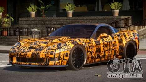 Chevrolet Corvette R-Tuned PJ5 for GTA 4