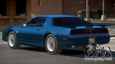 1991 Pontiac Firebird for GTA 4