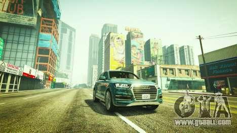 Audi Q7 Comfort Line version 1.1