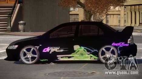 Mitsubishi Lancer G-Style PJ2 for GTA 4