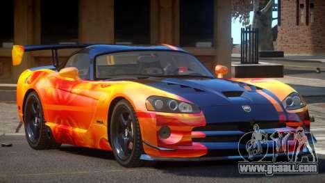 Dodge Viper SRT M-Sport PJ3 for GTA 4