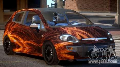 Fiat Punto TR PJ1 for GTA 4
