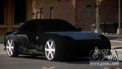 Mazda RX7 D-Tuned for GTA 4