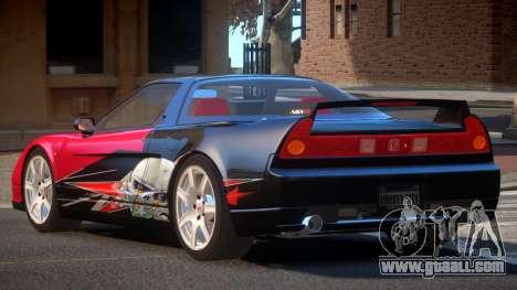 Honda NSX Racing Edition PJ4 for GTA 4