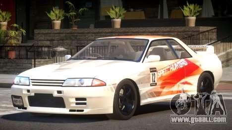 Nissan Skyline R32 V-Style PJ1 for GTA 4