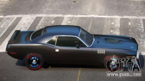 1969 Plymouth Cuda GT for GTA 4
