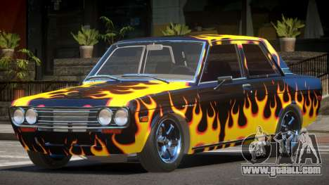 1972 Datsun Bluebird 510 PJ3 for GTA 4