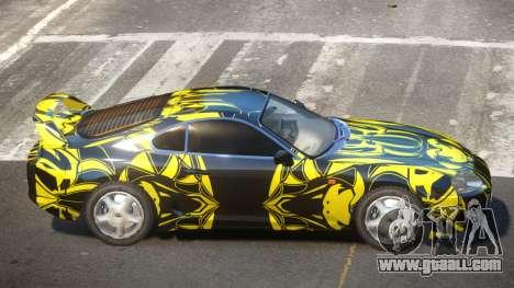 Toyota Supra G-Style PJ1 for GTA 4