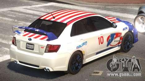 Subaru Impreza WRX SR PJ1 for GTA 4