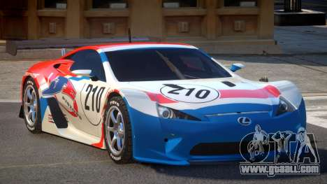 Lexus LFA R-Style PJ4 for GTA 4
