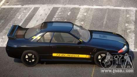Nissan Skyline R32 V-Style PJ4 for GTA 4