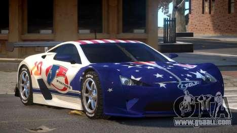 Lexus LFA R-Style PJ6 for GTA 4