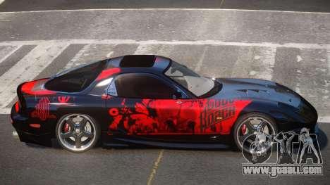 Mazda RX7 PSR PJ2 for GTA 4