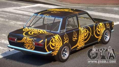 Datsun Bluebird L-Tuning PJ6 for GTA 4