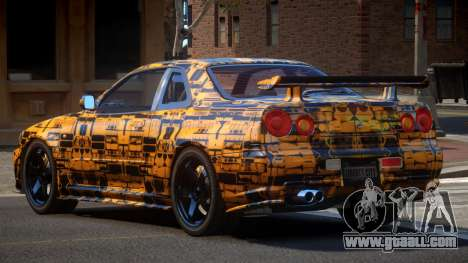 Nissan Skyline R34 SL PJ5 for GTA 4