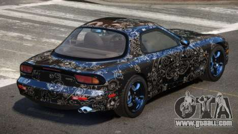 Mazda RX-7 Qn PJ4 for GTA 4