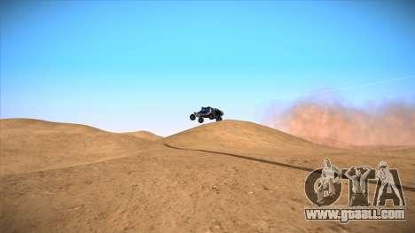 Sandy slides for GTA San Andreas