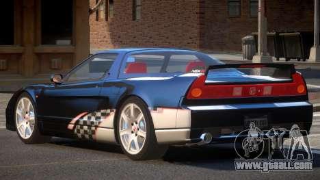 Honda NSX Racing Edition PJ5 for GTA 4