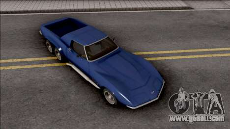 Chevrolet Corvette C3 Pickup for GTA San Andreas