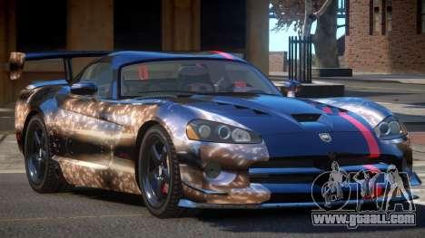 Dodge Viper SRT M-Sport PJ6 for GTA 4
