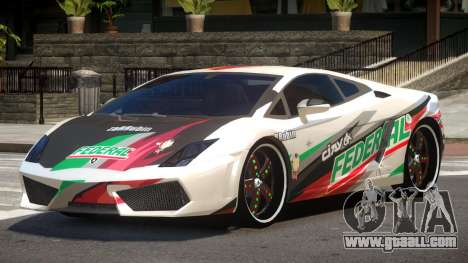 Lamborghini Gallardo LP560 MR PJ5 for GTA 4