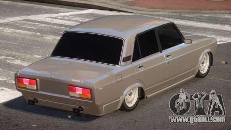 VAZ 2107 G-Style for GTA 4