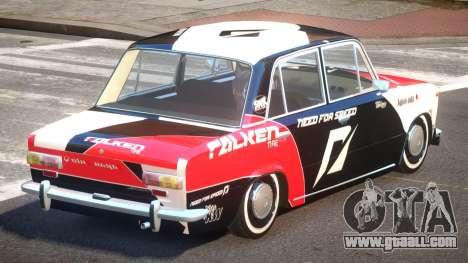 VAZ 2101 BR PJ5 for GTA 4
