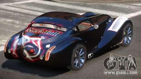 Morgan Aero S-Tuned PJ4 for GTA 4
