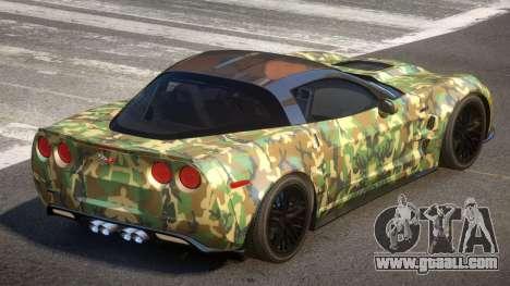 Chevrolet Corvette R-Tuned PJ1 for GTA 4