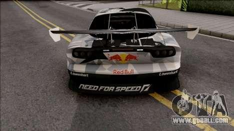 Mazda RX-7 GTR Redbull for GTA San Andreas