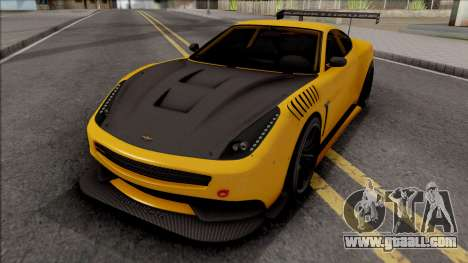 Dewbauchee Massacro Custom for GTA San Andreas