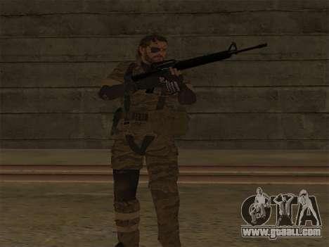 Metal Gear Solid V TPP Snake for GTA San Andreas