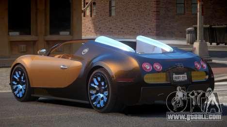 Bugatti Veyron SR for GTA 4