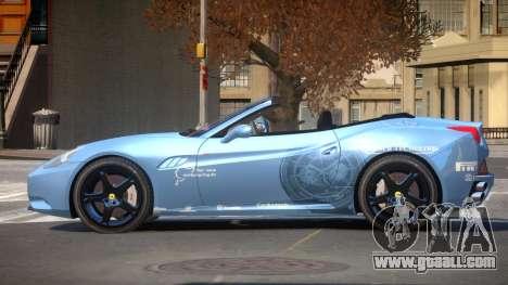 Ferrari California SR PJ2 for GTA 4