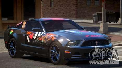 Ford Mustang 302 MS PJ3 for GTA 4