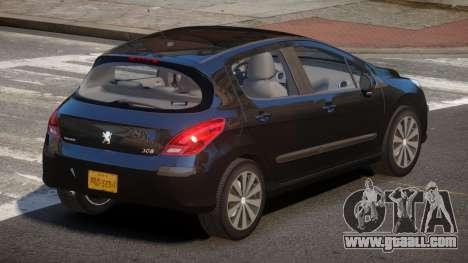 Peugeot 308 RT V1.0 for GTA 4