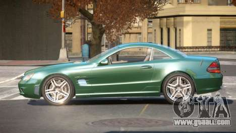 Mercedes Benz SL65 TR for GTA 4