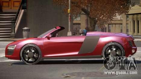 Audi R8 SR for GTA 4