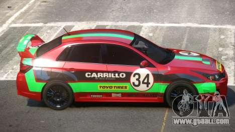 Subaru Impreza WRX SR PJ3 for GTA 4