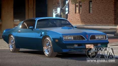 1989 Pontiac Firebird for GTA 4